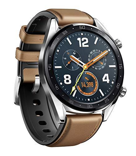 Huawei Watch GT Reloj, Hombre, Marrón, Talla Única