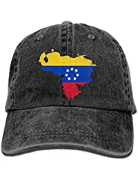 Free-shipping Venezuela Map 1 Denim Hat Adjustable Unisex Dad Baseball Hat