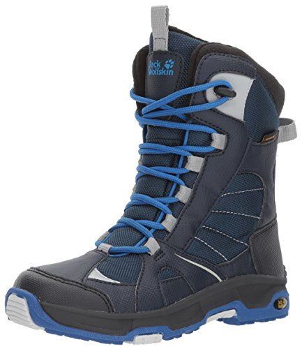 Jack Wolfskin Jungen Boys Snow Ride Texapore Trekking-& Wanderstiefel, Blau (Vibrant Blue 1615), 27 EU