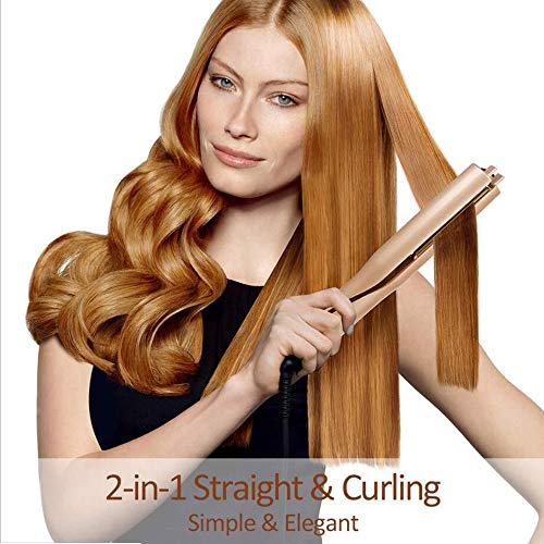 YB-DD Automatische Curling Iron 2 in 1 Automatische rotierende Walze Buckles automatische Heizung Automatische Keramik Curly Eisen Magic Hair Styling-Werkzeug