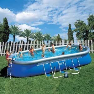 bestway fast set quickup pool 732cm leiter pumpe zubeh r