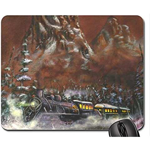 Crossing Gary's Pass Mouse Pad, Mousepad (Mountains Mouse Pad)