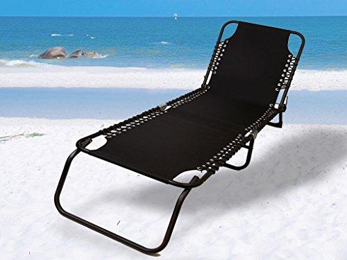 Generic qy-uk4–16feb-20–62* 1* * 2062* * Liege Liege zusammenklappbar Outdoor Beach Sun Hundebett Schwarz F Schwarz Zusammenklappbar R Beach Deck Stuhl K Stuhl entspannen Garten Garten Liegestuhl (Hundebett Lounger)