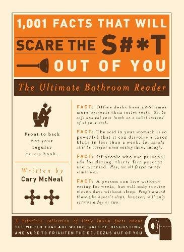 1, 001 Facts That Will Scare the S**t Out of You: The Ultimate Bathroom Reader