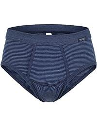9d7cf9d84be8 Ammann 3er Pack Herren Slips mit Eingriff, Unterhosen, dunkelblau, anthrazit