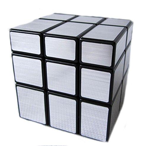 MEISHINE® Silver Mirror Cube Cubo di Rubik Cubo Magico Magic Puzzle Speed Cube Stickerless