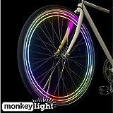 Monkey Light M204 - 40 Lumen - Bike Wheel Light - 8 Colors - Waterproof