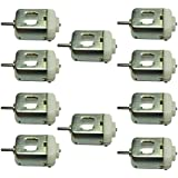PGSA2Z 10 PCS New 6v-12v Standard 130 Motor Green Micro DC Motor Toy Motor Dc 6v- 12v High Speed