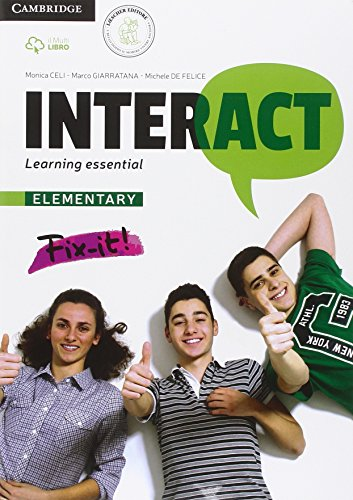 Interact elementary: learning essential. Quaderno BES e DSA. Per le Scuole superiori. Con e-book. Con espansione online: 1