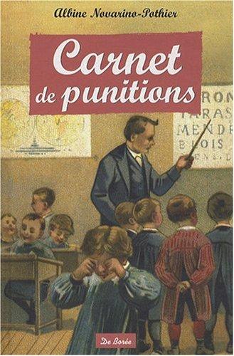 Carnet de Punitions par Novarino Albine