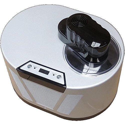 Eismaschine mit Kompressor-Frozen Yogurt-Milchshake Maschine-Flaschenkühler Gino Gelati IC-150W-BS