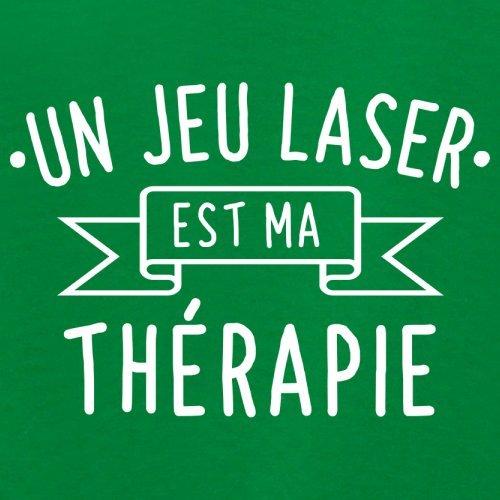 Un jeu laser est ma thérapie - Femme T-Shirt - 14 couleur Vert