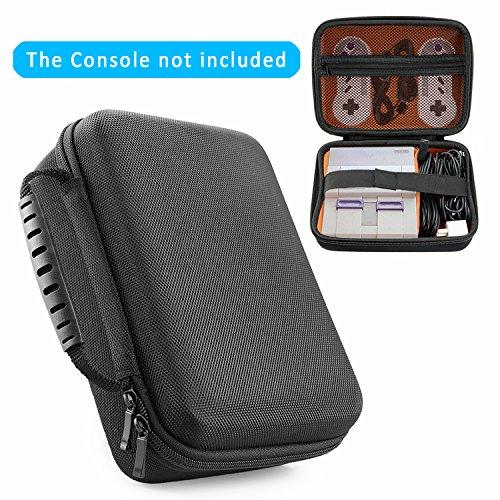 YOUSHARES Super NES Classic Mini Portables Dur Portable Trousse de Voyage pour Nintendo Snes Classic Edition (2017), Peut contenir Snes Mini Console, 2contrôleurs et cble HDMI