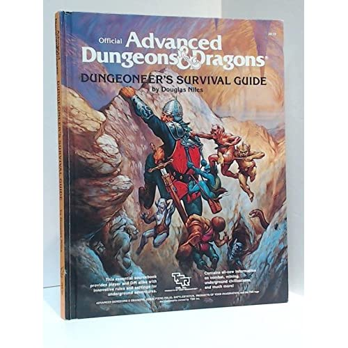 Dungeoneer's Survival Guide (Advanced Dungeons & Dragons/AD& D)