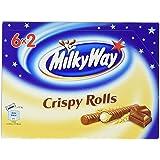 Milky Way Crispy Rolls, 12 Röllchen, 150 g