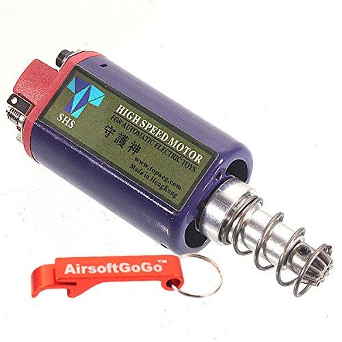 SHS HIGH SPEED AEG MOTOR PARA AIRSOFT SCAR / G3 / M4 / A&K MASADA VER 2 GEARBOXT Opiniones AIRSOFTGOGO LLAVERO INCLUIDO