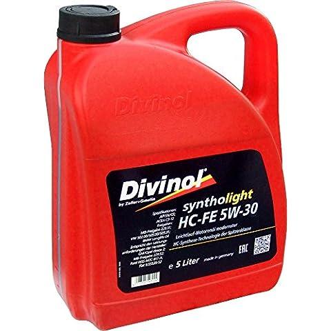 Divinol Syntholight HC-FE 5W-30 Aceite para motor, 5 litros