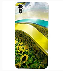 ColourCraft Abstract Image Design Back Case Cover for HTC DESIRE 626s
