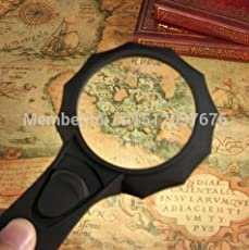 And Retails Illuminated 6X Hand-Held High-Powered Pocket Magnifier Glass Lens With 6 LED Lights