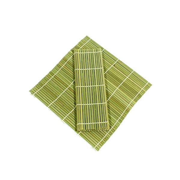 AYRSJCL Rodillo Herramienta Sushi 1pc de bambú del balanceo Mat Onigiri Rice Rodillo del Pollo de la Mano del Fabricante… 3