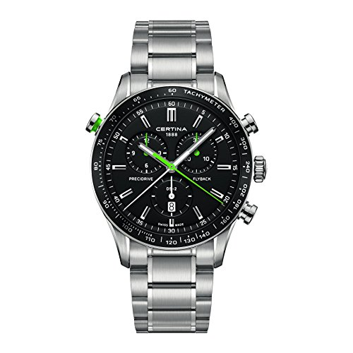 Mens Certina DS-2 Flyback Chronograph Watch C0246181105102