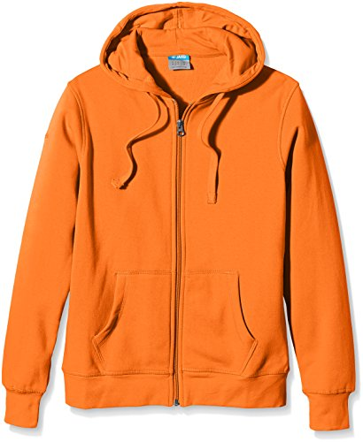 JAKO Herren Kapuzenjacke Team, neonorange, 3XL, 6833 (Kapuzen-fleece Orange)