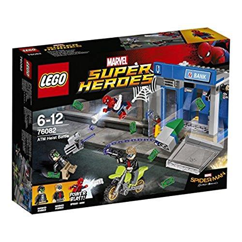 LEGO Super Heroes 76082 Spider-Man ATM Heist Battle Toy