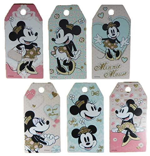 chenkanhänger 7,5 x 4 cm Minnie Mouse Maus Figur Disney Deko GAC C211 ()