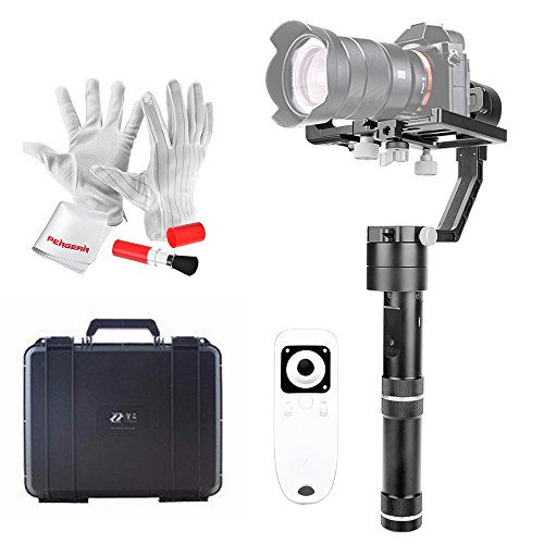 Cheapest Price for Zhiyun Crane 3 Axis Brushless Handheld Gimbal Stabilizer with Wireless Remote Control, Mini Iron Tripod and Quick Release Plate for Sony A7 series/Panasonic LUMIX Series/Nikon J Series/Canon M Series Review