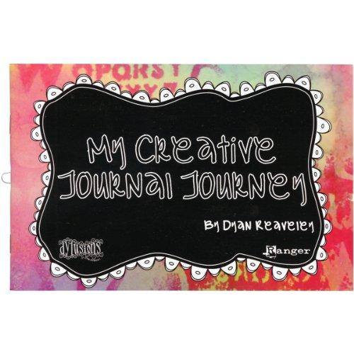 Ranger dya3124 Papier Dylusions Dyan X 's My Creative Journal Journey Borten