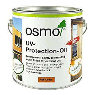 Osmo UV-Protection Oil-Cedar with Active Ingredients 428D 2.5 Litre