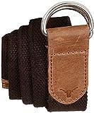 Hiderkaft Canvas-leather Belt for Men