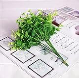 WYXlink Plante Artificielle Liquidation de Stock PU hydratant d'eucalyptus de Simulation Bouquet de Fleurs pour Mariage Maison Décoration de fête...