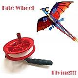 Y56 100M verdrillte Schnur-Linie rotes Rad-Drachen-Spulen-Wickler Drachenschnur