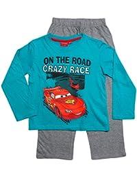 Disney Cars 2 Kollektion 2016 Schlafanzug 92 98 104 110 116 122 128 Jungen Pyjama Neu Lang Lightning McQueen Blau
