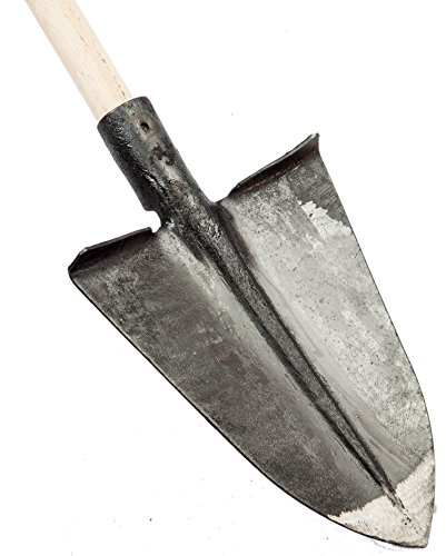 falci 249970-40l vanga a punta con risvolto, laminata, grigio, 29x24x6 cm