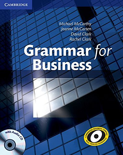 Grammar for Business with Audio CD por Michael McCarthy