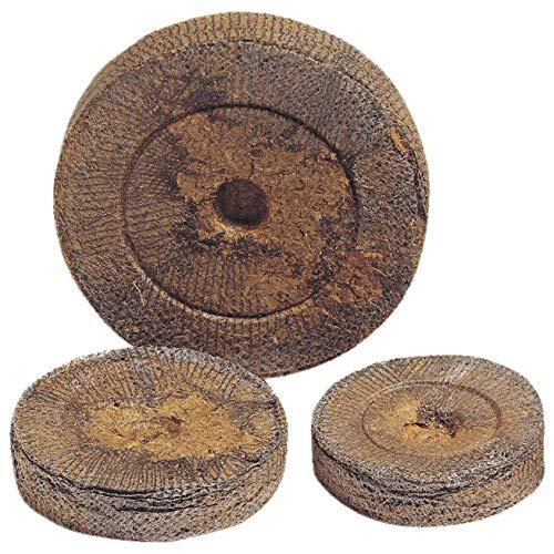 Preisvergleich Produktbild 50 Jiffy Torf-Quelltabletten Quelltöpfe Aussaaterde Anzuchterde Torftablette Kokos-Quelltabletten