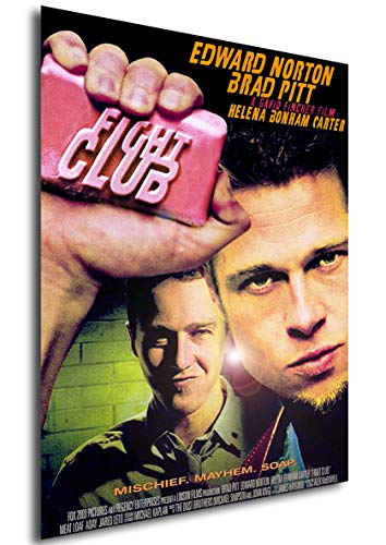 Instabuy Poster Fight Club Vintage Theaterplakat- A3 (42x30 cm) -