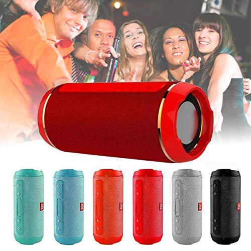 Topsale-ycld 10W Wireless Handfree Speaker Portable Outdoor USB/FM Radio Stereo Waterproof -