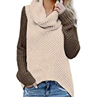 LYWBLACK 5 colorAutumn Winter schn/üren Sich Oben gestrickten Strickjacke-koreanische Elegante Damen-Lange H/ülsen-Oberseiten-weibliche reizvolle Vansatz Strickjackenfrauen