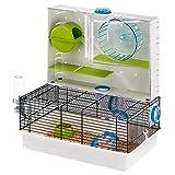 Ferplast - Olimpia / 57922599 - Cage pour hamsters - Complètement équipée - 46 x...