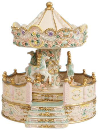 Music Box World 14148 - Carillon, colore: Beige