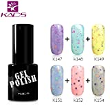 KADS 6* 9.5 ml Cheese Candy Gel Polish Soak Off UV LED Nail Art Lacquer