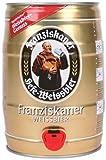 Franziskaner Hefe hell 5L Bierfass