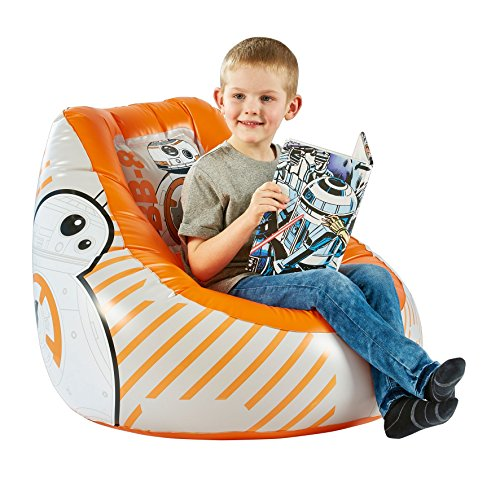 Achat STAR WARS Fauteuil enfant Gonflable poire BB 8 – Worlds Appart