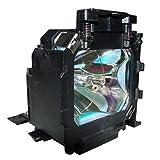 Supermait Ersatz Projektorlampe mit Geh?use 17 f��r EMP-TS10 / EMP-TW100 / PowerLite TW100 Bild