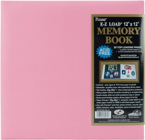 Pioneer 12x 12Zoll Pastell-Post Bound Album, Light Pink