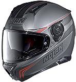 Nolan, N87Rapid N-Com, casco integrale da moto, in policarbonato, colore nero...