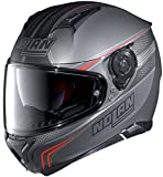 Nolan N87 Rapid Integralhelm Motorrad Polycarbonat n-com - matt schwarz Größe XL
